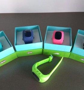 Детские, Подростковые часы телефон с GPS трекером