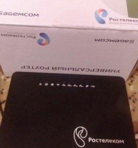 """Продам универсальный роутер Wi-Fi """"Ростелеком"""""""