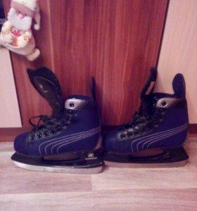 Хоккейные коньки 38 размера