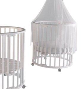 Детская кровать круглая