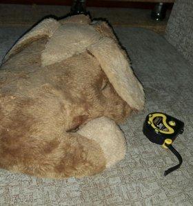 Собака мягкая игрушка, подушка 400х300 мм