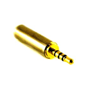 Переходник Jack-3.5 M 4-контактный >Jack-3.5 F