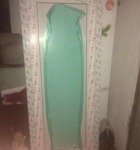 Дверь входная пластиковая