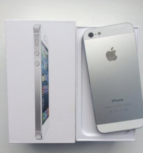 iPhone 5 32 gb white