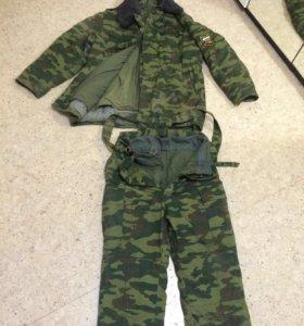 Зимний костюм, Военный. Бушлат + штаны зимние