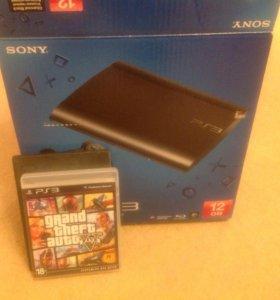Игровая приставка PS3 + игра! СРОЧНО!