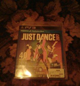 Just Dance 2017(ДЛЯ PS3,НОВАЯ)