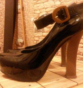 Туфли женские нат кожа