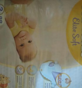 Huggies Elite Soft 2(4-7кг)-88шт