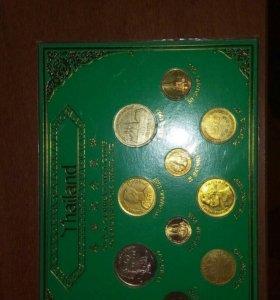 Монеты Тайланда (коллекционный набор)