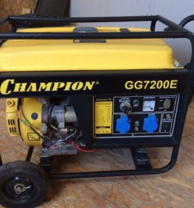 Бензогенератор Champion GG7200e на 5.5 кВт