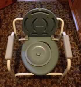 Стул-туалет для пожилых людей