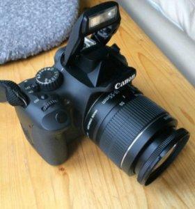 Фотоаппарат Canon 550D с объективом 18-55
