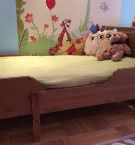 Детская мебель (2 детские - подростковые кроватки)