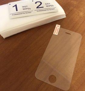 Защитные стекла для iPhone: 4,4S,5,5C,5S,SE,6,6S