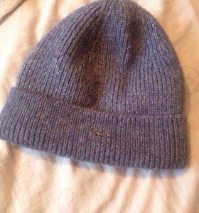 Теплая шапка женская