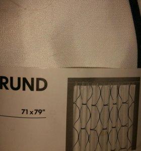 Штора для ванной IKEA 180×200