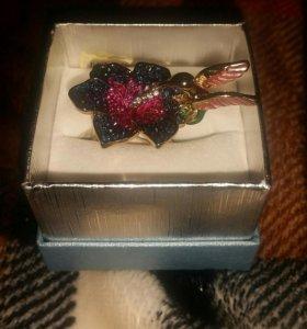 Кольцо женское Колибри