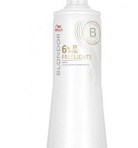 Wella Professional freelights 6%  1000 мл