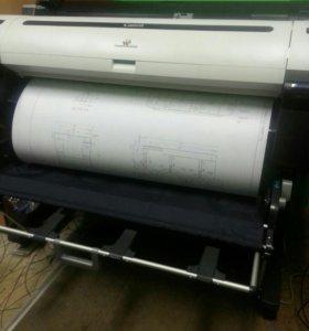 Широкоформатный принтер Canon ipf770
