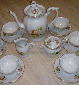 Чайный сервиз 70-80 годов