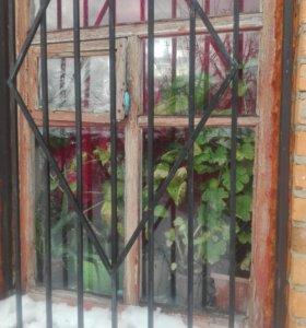 Решетки на окна(4шт)