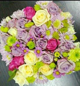 Коробка с цветами