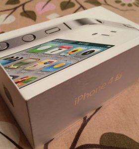 Коробка от iPhone 4s