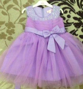 Платье для девочки, 104 - 110