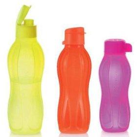 Новый набор неоновых эко бутылок Tupperware