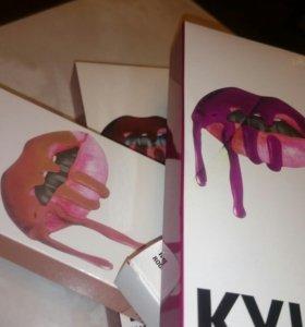 Матовые блески Kylie