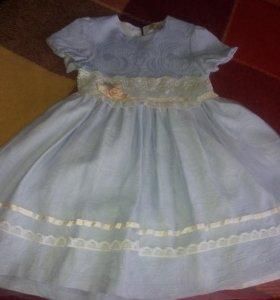 Новое платье 128раз.