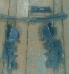Диффузор радиатора для Фольксваген Пассат Б6