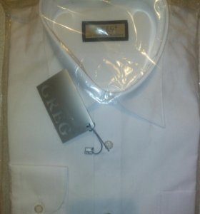 Рубашки мужские белые новые