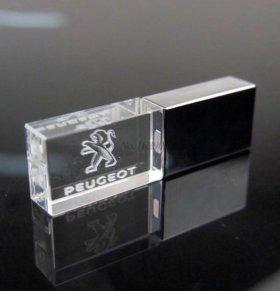 Флеш-накопитель 8 Гбайт Peugeot