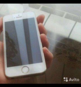 Срочно. iPhone 5s gold LTE 16gb