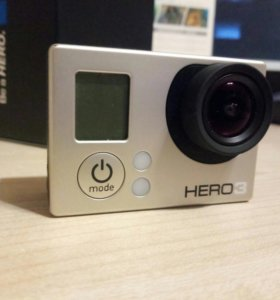 Go Pro Hero 3 white edition экшн камера.
