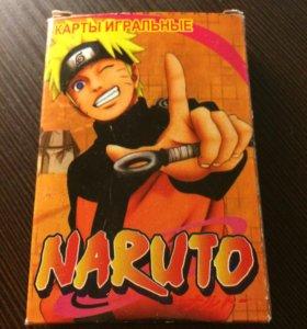 Игровые карты с Наруто.