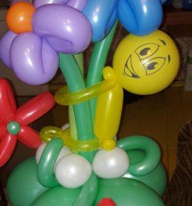 Праздничное оформление воздушными шарами