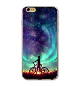 Чехлы силиконовые iPhone 5s/6s