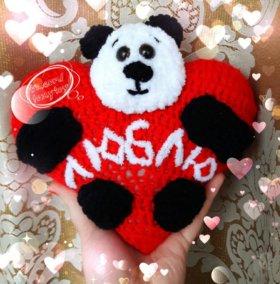 Мишка с сердцем ко Дню Святого Валентина