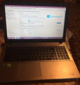 Ноутбук Асус x550la