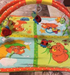 Развивающий коврик + подарок