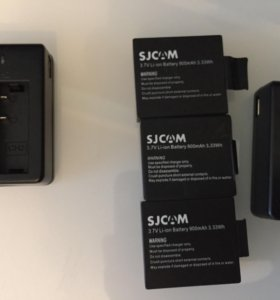 Аккумуляторы для экшен камер sjcam