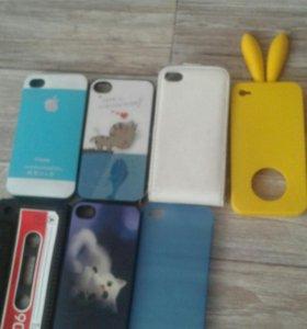 Чехлы на iPhone 4