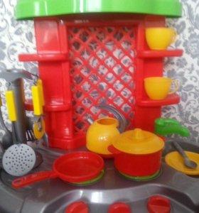 Новая детская кухня
