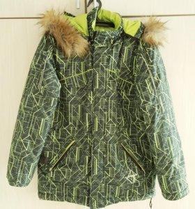 Куртка зимняя подростковая б/у