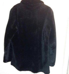 Шуба мужская мутоновая размер 58-60