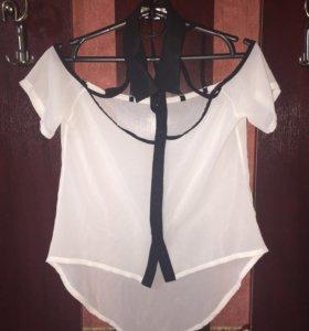 Блузка, кофточки и юбка
