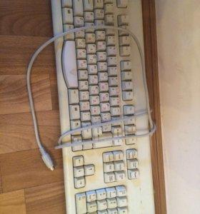 Клавиатура,мышь, колонки и кабель